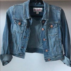 Mossimo crop Jean jacket